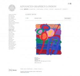 Advanced Graphics London - Albert Irvin