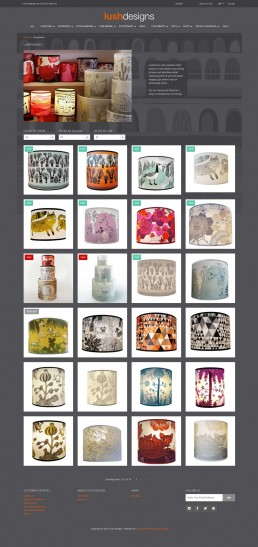 Lush Designs Lampshades